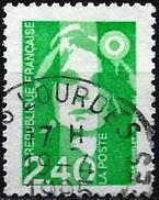 France 1993 - Marianne Of Briat ( Mi 2965A - YT 2820 ) Cancelled  : Lourdes - 1989-96 Marianne Du Bicentenaire