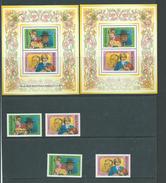 Redonda 1982 Princess Diana & Prince William Both Sets Of 2 & Both Miniature Sheets MNH