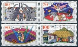 Y&T  N° 1243-1246 ** Cirque