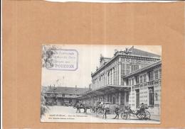 SAINT ETIENNE - 42 -  Gare De Chateaucreux - Attelage Au 1er Plan  - ORL -  - ORL - - Saint Etienne