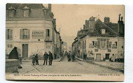 CPA  89 : SENS  Ancien Faubourg D'Yonne     A  VOIR  !!!!!!! - Sens