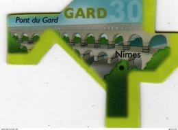 Magnets Magnet Le Gaulois Departement France 30 Gard - Tourism