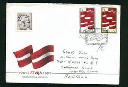 C61-  Postal Used Cover. Posted From Latvija To Pakistan - Latvia