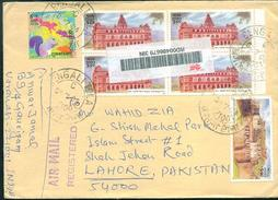 C64-  Posted From India To Pakistan. Building - India