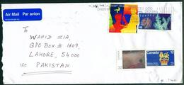 C71- Postal Used Cover. Posted From Canada To Pakistan - Canada