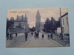 Kerk En Het Postkantoor ( Apers ) Anno 19?? ( Zie Foto Details ) !! - Leopoldsburg