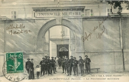 ALBERTVILLE LE PENITENTIER MILITAIRE 1912 - Albertville