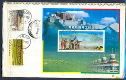 C87- Postal Used Cover. Posted From China To Pakistan. - China
