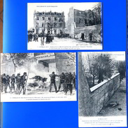 Cartes Postales. Commune De Paris (1871) Imagerie Anti-communarde - Francia