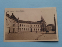 De Markt En Het Wezenhuis ( Mouvau ) Anno 19?? ( Zie Foto Details ) !! - Hamme