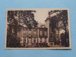 Het Kasteel Van Mr. Ch. Van DOORSELAERE De Ten RIJEN ( Mouvau ) Anno 19?? ( Zie Foto Details ) !! - Hamme