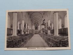 Binne Zicht Kerk ( P. Foubert ) Anno 19?? ( Zie Foto Details ) !! - Waasmunster