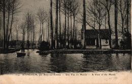 ETINEHEM PRES BRAY SUR SOMME -80- UNE VUE DU MARAIS - Bray Sur Somme