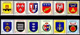 Lituanie 2008 / 09 + 2011 / 12 Armoiries