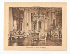 Photographie , 19 X 14.5 , COMPIEGNE , Le Chateau , SALON DE FAMILLE  , Frais Fr : 1.55 € - Lieux