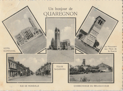Quaregnon - Bonjour De ... - Carte Postale 5 Vues - 1951 - Quaregnon