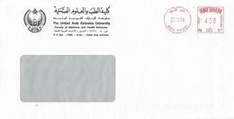 "United Arab Emirates UAE 1983 Abu Dhabi Meter Franking Neopost ""205"" N 87 Cover - Abu Dhabi"