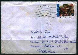 C107-  Postal Used Cover. Post From Belgium To Pakistan. - Belgium