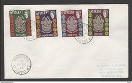 ST VINCENT - 25 11 1964 FDC SCOUT