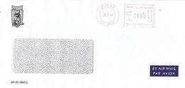 "United Arab Emirates UAE 1997 Abu Dhabi Meter Franking Hasler ""Mailmaster"" H0040 Cover - Verenigde Arabische Emiraten"
