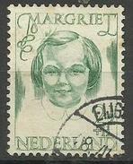 Netherlands - 1946 Princess Margriet 2-1/2c + 1c Used  SG 626