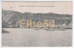 Aden (Yemen), Steamer Point View From The Harbour, Used 1907 - Yemen