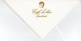 Serviette En Papier Café Sacher Innsbruck - Company Logo Napkins