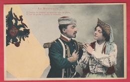 Russie / Russian - La Moscovite ... Son Militaire Dans La Séduction  - 1905 - 1 ( Voir Verso ) - Russie