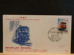 69/385  FDC BELGE - Trains