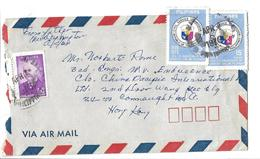 Philippines 1975 Civil Service Commission Commemorative 15 S Airmail To Pakistan. - Filipinas