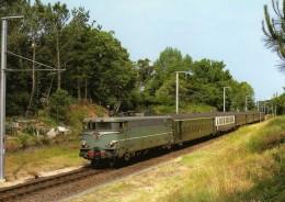 ART 066 - Train, Loco BB 25200 Vers LA BAULE LES PINS - Loire Atlantique - 44 - SNCF - La Baule-Escoublac
