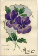 Carte Postale Ancienne 1925 Amitié - Autres