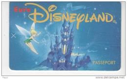 Euro Disneyland - Passeport - Francia