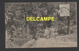 DD / ALGERIE / MASCARA / UN COIN DU JARDIN PUBLIC / ANIMÉE / CIRCULÉE EN 1906