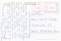"""United Arab Emirates UAE 1999 Fujeirah Meter Franking Hasler """"Mailmaster"""" H0029 Viewcard - Verenigde Arabische Emiraten"""