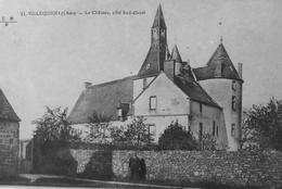 Villequiers : Le Chateau Coté Sud Ouest - France