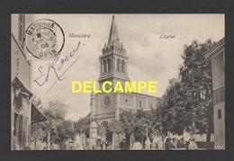 DD / ALGERIE / MASCARA / L'EGLISE / ANIMÉE / CIRCULÉE EN 1906