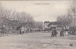 BOURG-de-PEAGE - Place Dedalay Dagier - Tabacs - Bel Attelage à Voyageurs - Animé - Francia