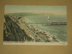 TB Cpa UK Angleterre - Isle Of Wight - The Esplanade & Beach, Sandown - TBE - Sandown