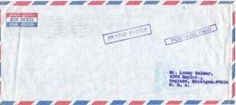 United Arab Emirates UAE 1972 Dubai Postage Paid Cover - Verenigde Arabische Emiraten