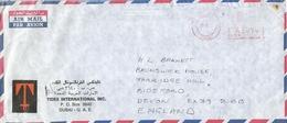 """United Arab Emirates UAE 1978 Dubai Meter Franking Pitney Bowes """"5000"""" PB 31 Cover - Verenigde Arabische Emiraten"""