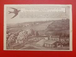 DOMAINE DE MALEPEYRE PAR DUFORT REFUGE PROVISOIRE A LIRE 1942 - Autres Communes