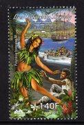 Polynésie Française 2017 - Vahiné Du Bounty, Conjoint Avec Pitcairn - 1 Val Neufs // Mnh - French Polynesia