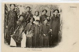 Asie       Famille Annamite - Viêt-Nam