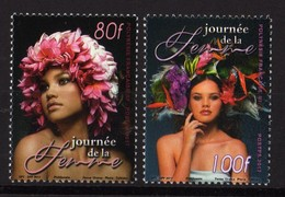 Polynésie Française 2017 - Journée De La Femme - 2 Val Neufs // Mnh - Französisch-Polynesien
