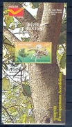 C171- INDIA 2009 Leaflet Brochure With Stamp & First Day Cancellation. PTEROSPERMUM ACERIFOLIUM. - India