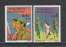 SOMALIA - 1974 - 2 Valori Nuovi Stl Dedicati Allo SCAUTISMO - In Ottime Condizioni.