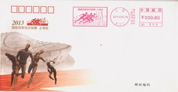 China 2013 IAAF Diamond League Shang Hai  Commemorative Cover