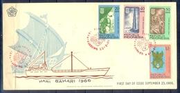 C183- FDC Of Indonesia 1966. Maritime Day Hari Bahari. Dag Van De Scheepvaart. - Indonesia