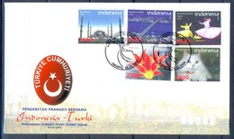 C189- Indonesia 2008 Joint Issue With Turkey Type-2 - Joint Issues